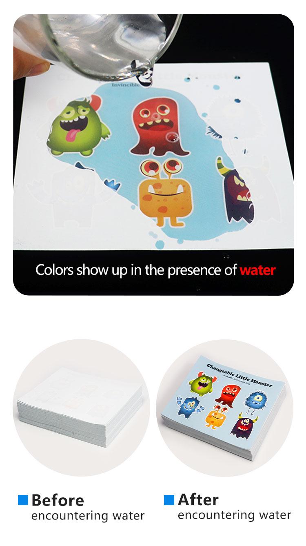 Pelekat penunjuk warna yang berubah warna